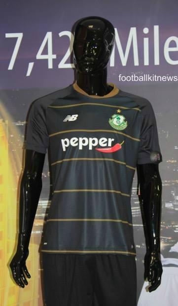 Black Shamrock Rovers Kit 2016