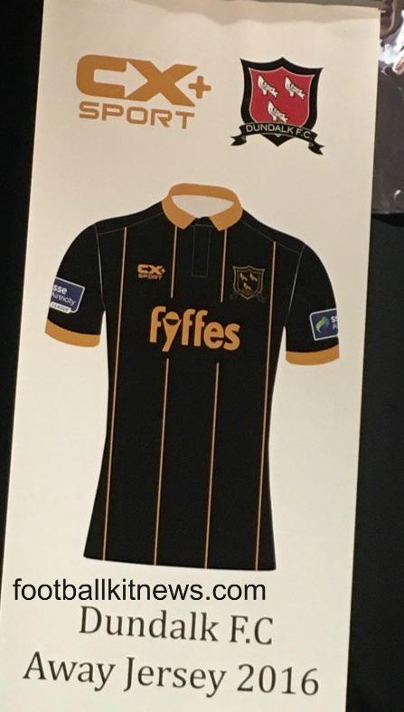 Dundalk FC Away Shirt 2016