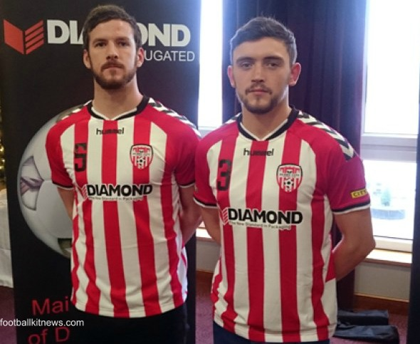 New Derry City Hummel Jersey 2016- Derry City FC Home Kit 2016