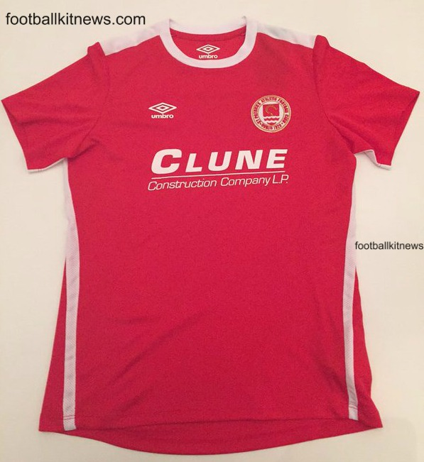 New St.Patrick's Athletic Jersey 2016- St.Pats FC Umbro Home Shirt 2016