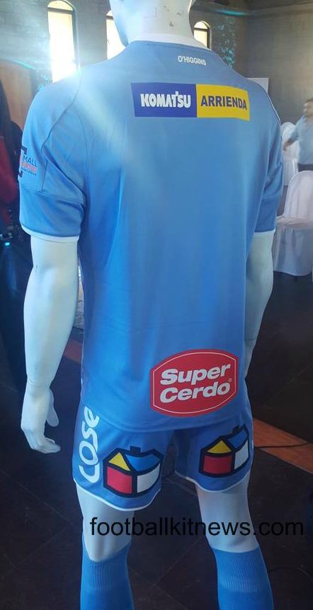 O'Higgins FC Shirt 2016