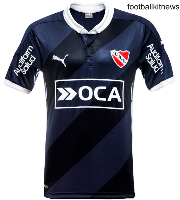 New Club Atletico Independiente Alternate Jersey 2016- Blue Away Kit 2016 Puma