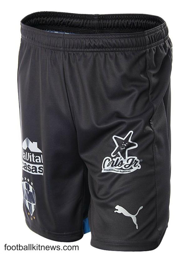 Monterrey Third Shorts 2016