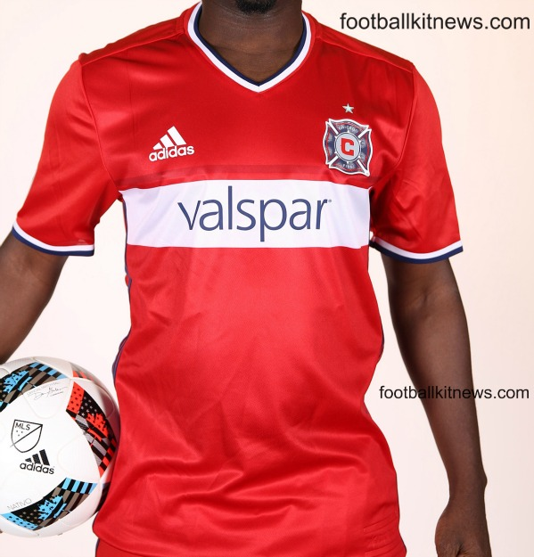 New Chicago Fire Jersey 2016