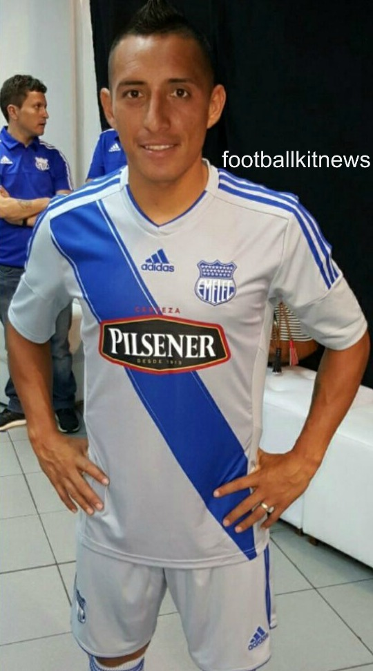 New Emelec Jersey 2016- CS Emelec Adidas Kits 2016 Home Away