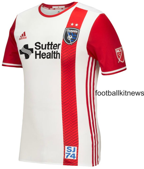 San Jose Earthquakes Away Jersey 2016