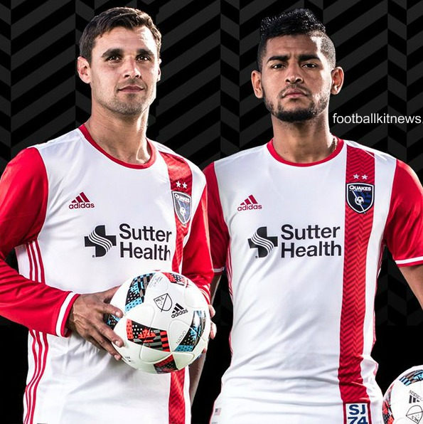 San Jose Earthquakes Away Kit 2016