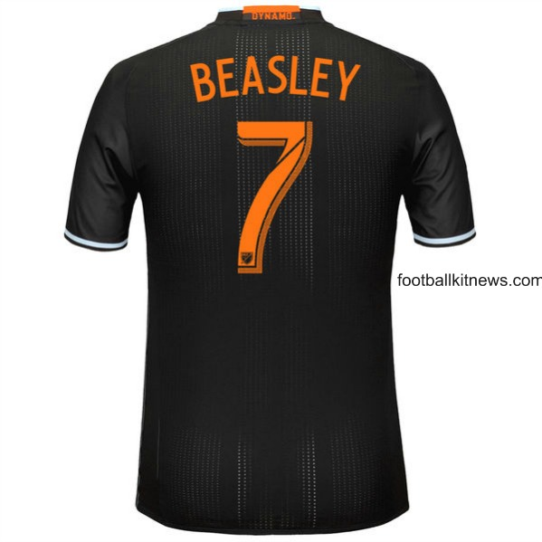 Black Houston Dynamo Shirt 2016