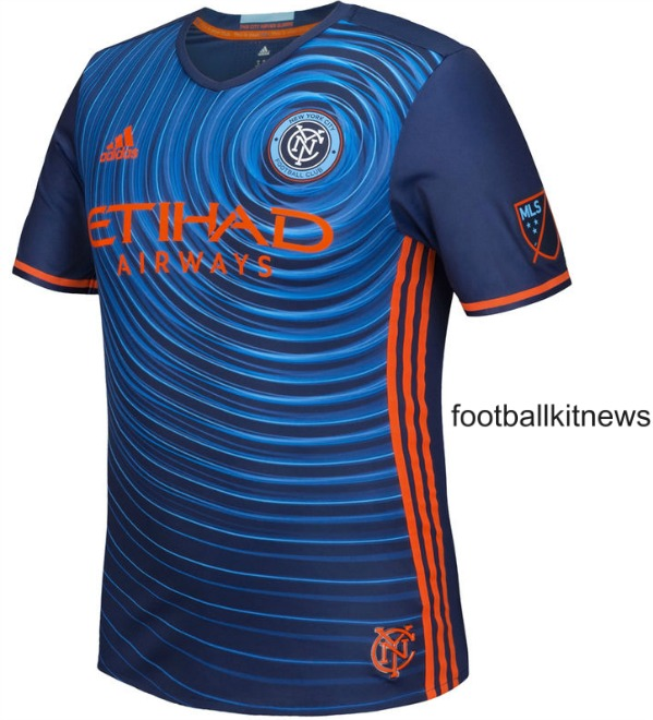 Blue New York City FC Jersey 2016