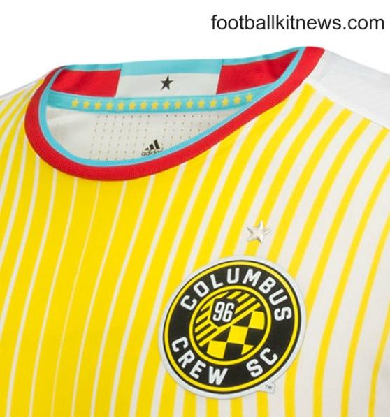 "New Columbus Crew Jersey 2016- Crew SC ""For Columbus"" Alternate Uniform 2016"
