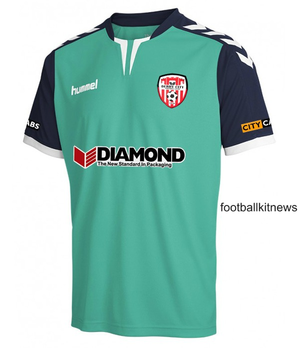 Hummel Derry City FC New Away Shirt 2016
