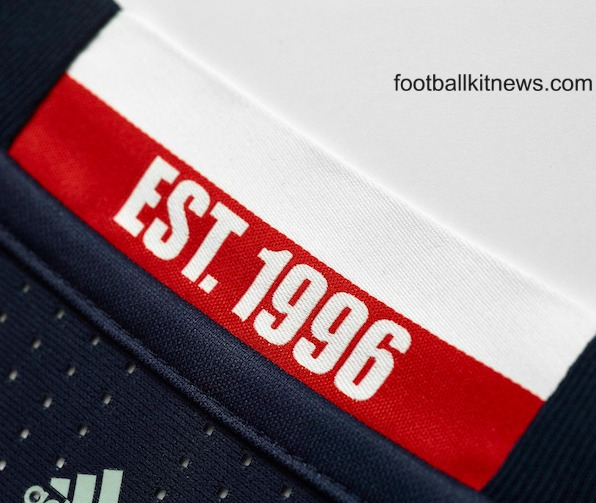 New England Revolution Jersey 2016- NE Revs Home Kit 2016 MLS Adidas