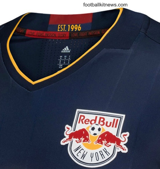 Love Fight Passion Glory Words Inside Red Bulls Jersey