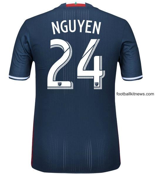NE Revs Soccer Jersey 2016 Back