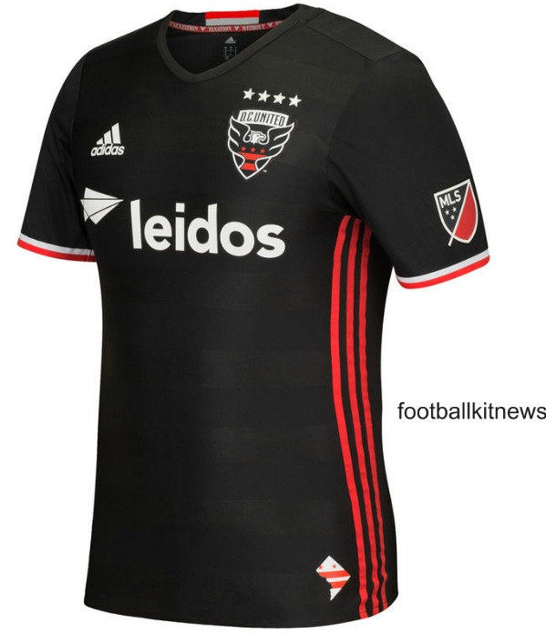 New Dc United Jersey  Adidas D C United Home Kit  Football