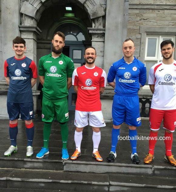 New Sligo Rovers 2016 Jersey- Sligo Joma Kits 2016 Home Away