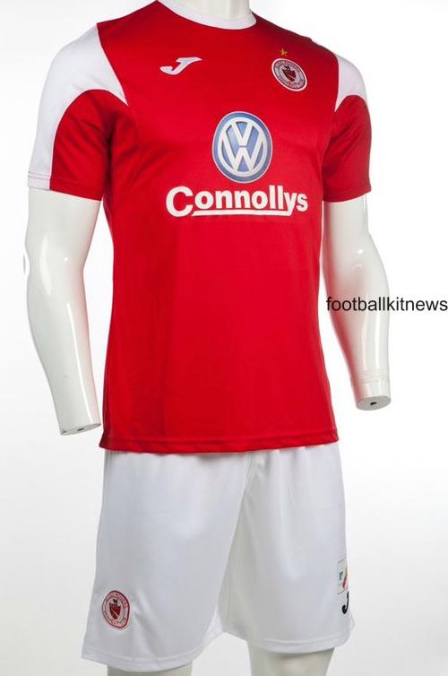 New Sligo Rovers Kit 2016