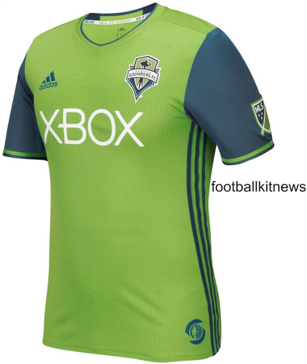 New Sounders FC Jersey 2016
