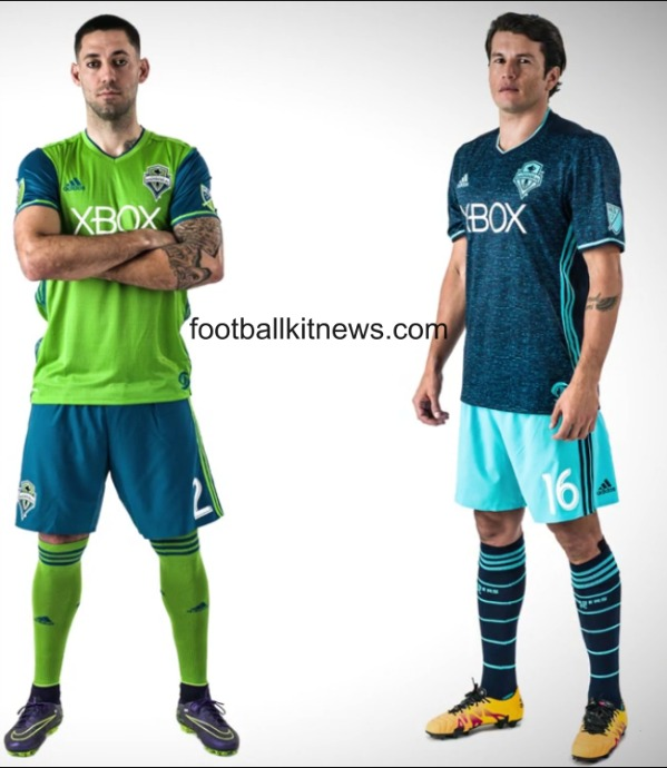 New Sounders Jersey 2016