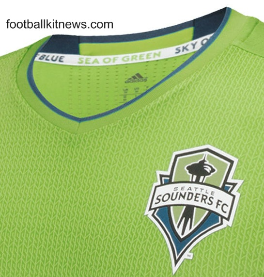 New Sounders FC Jersey 2016- Blue Seattle MLS Third Kit 2016 Adidas