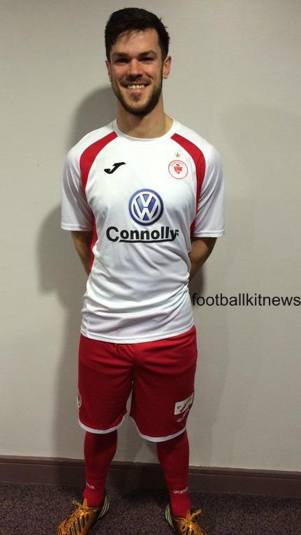 Sligo Rovers Away Kit 2016