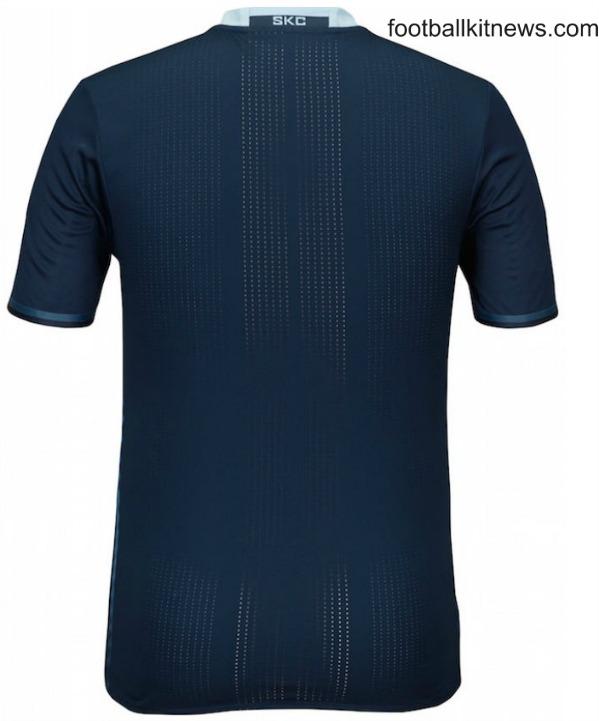 Sporting KC New Away Shirt 2016 Back