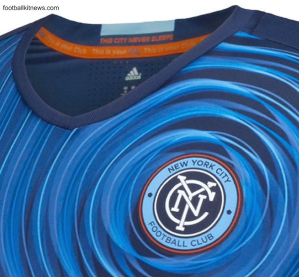 New York City Away Kit 2016- Adidas NYCFC New Alternate Shirt MLS