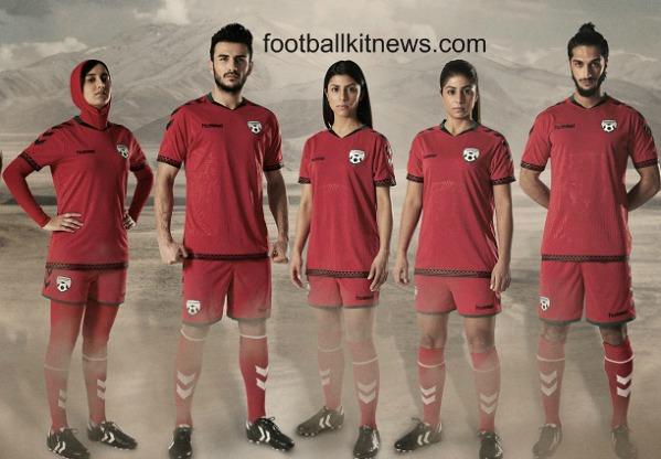 Afghanistan Football Shirt 2016 Hummel
