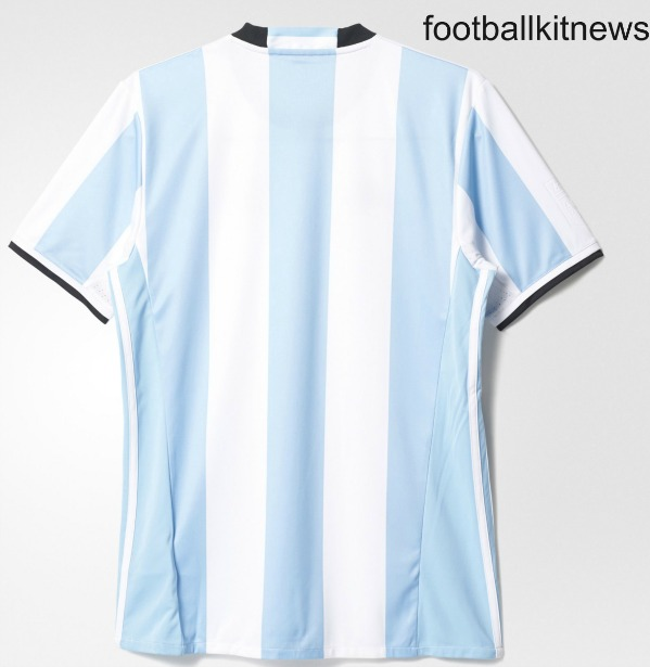 Argentina Jersey 2016 17 Back