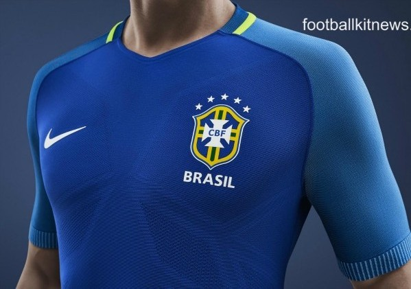 Brazil Away Kit 2016 17
