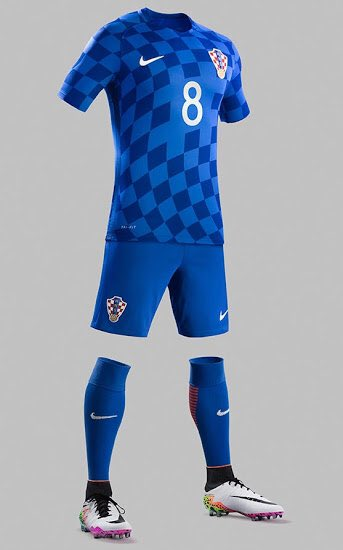 Croatia Away Kit Euro 2016