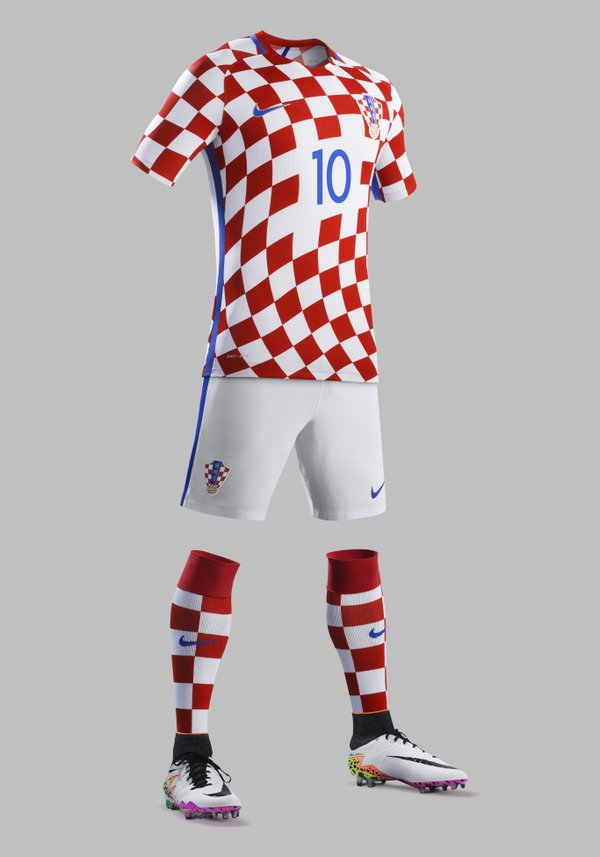 Croatia Euro 2016 Jersey