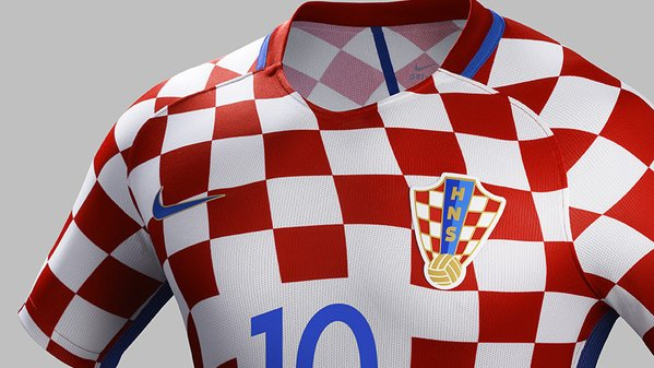 Croatia Euro 2016 Shirt