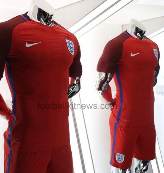 England Away Jersey Euro 2016