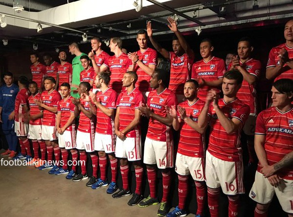FC Dallas Home Kit 2016