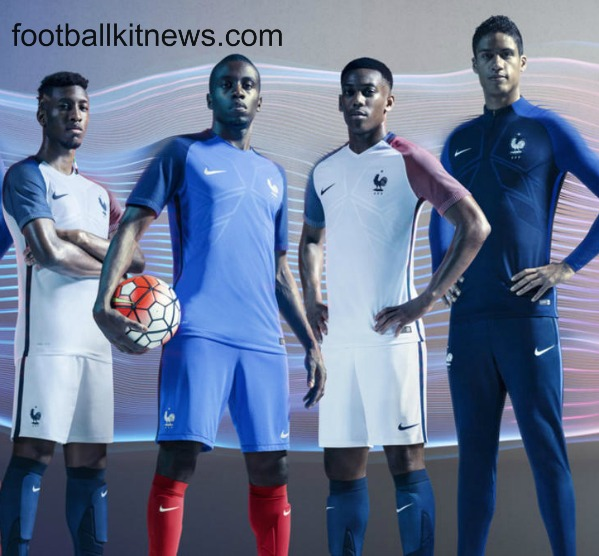 New France Euro 2016 Jerseys- French 16/17 Kits by Nike (Home & Away)