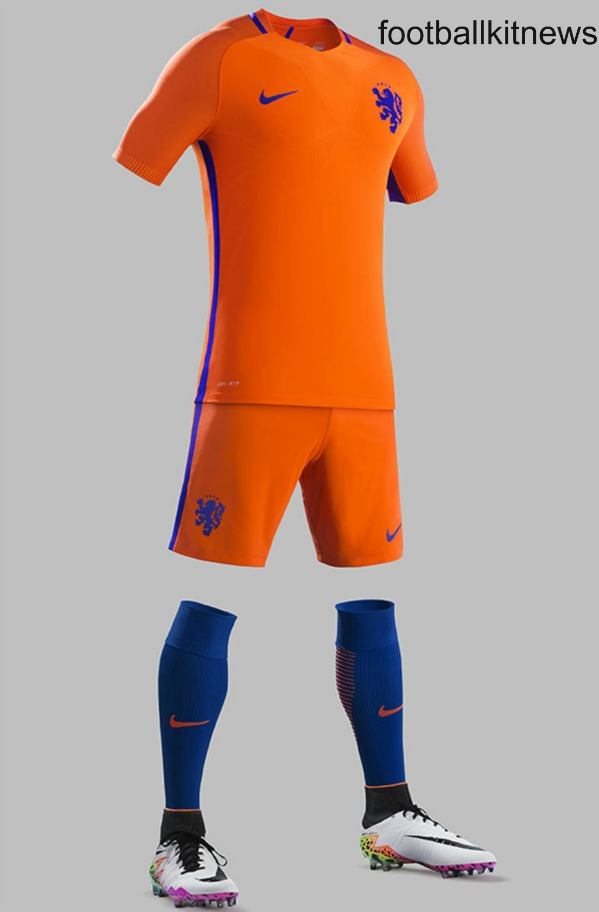New Netherlands 2016-17 Kits- Holland unveil new home ...