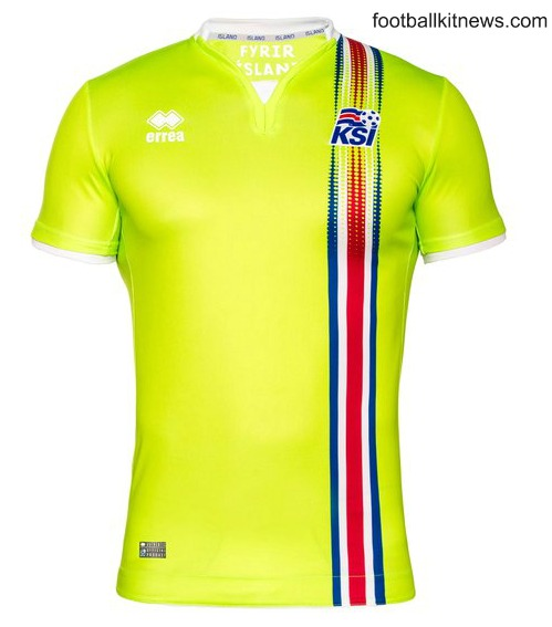Iceland Goalkeeper Shirt 2016 2017