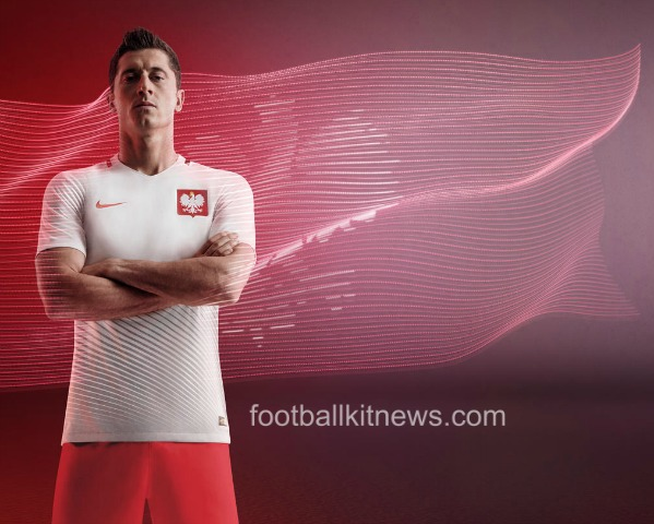 Lewandowski Euro 2016 Shirt Poland