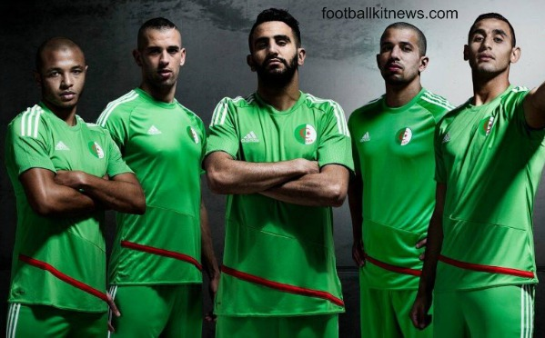 New Algeria Football Shirt 2016 17