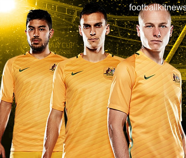 New Socceroos Jersey 2016 2017