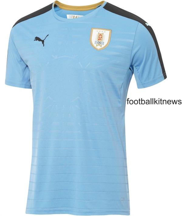 New Uruguay Copa America Centenario Jersey 2016