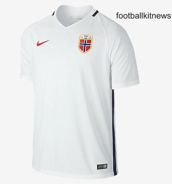 Norway Away Shirt 16 17