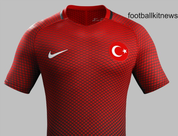 New Turkey Euro 2016 Jerseys- Nike unveil Turkish 16/17 Home & Away Shirts