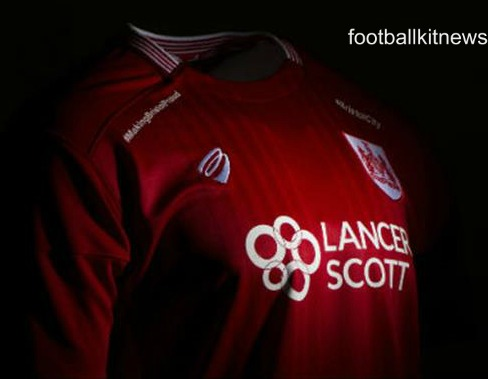 Bristol City Shirt 2016 17 with Hashtags