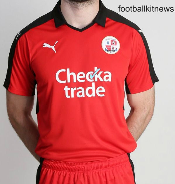 Crawley Town Checkatrade Shirt 2016 2017