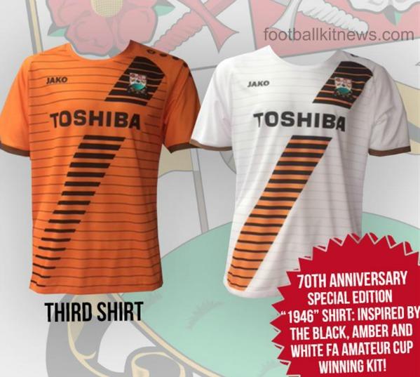 New Barnet FC Shirt 16 17