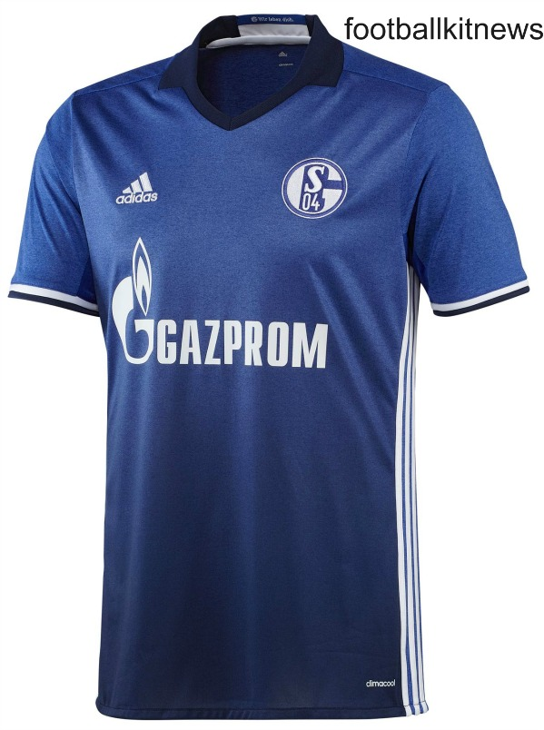 New Schalke Jersey 2016-2017- Adidas unveil S04 Home Kit