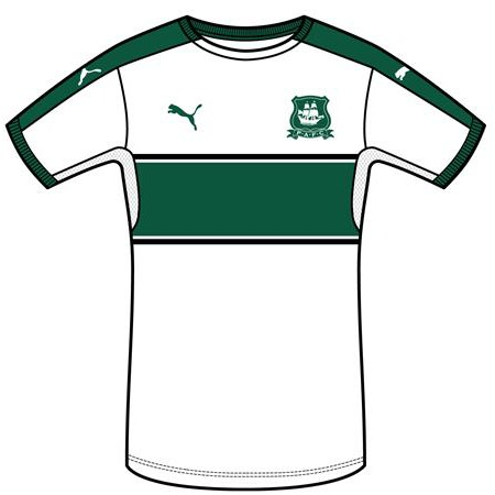 Plymouth Argyle Away Kit 2016 2017
