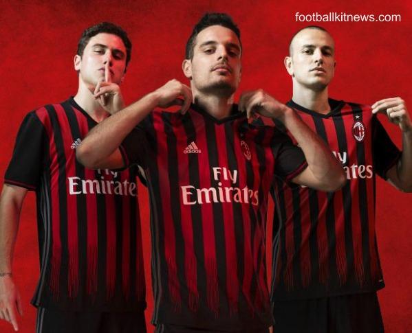 AC Milan Home Kit 2016 17